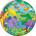 Jungle Buddies Party Plates (8), 
